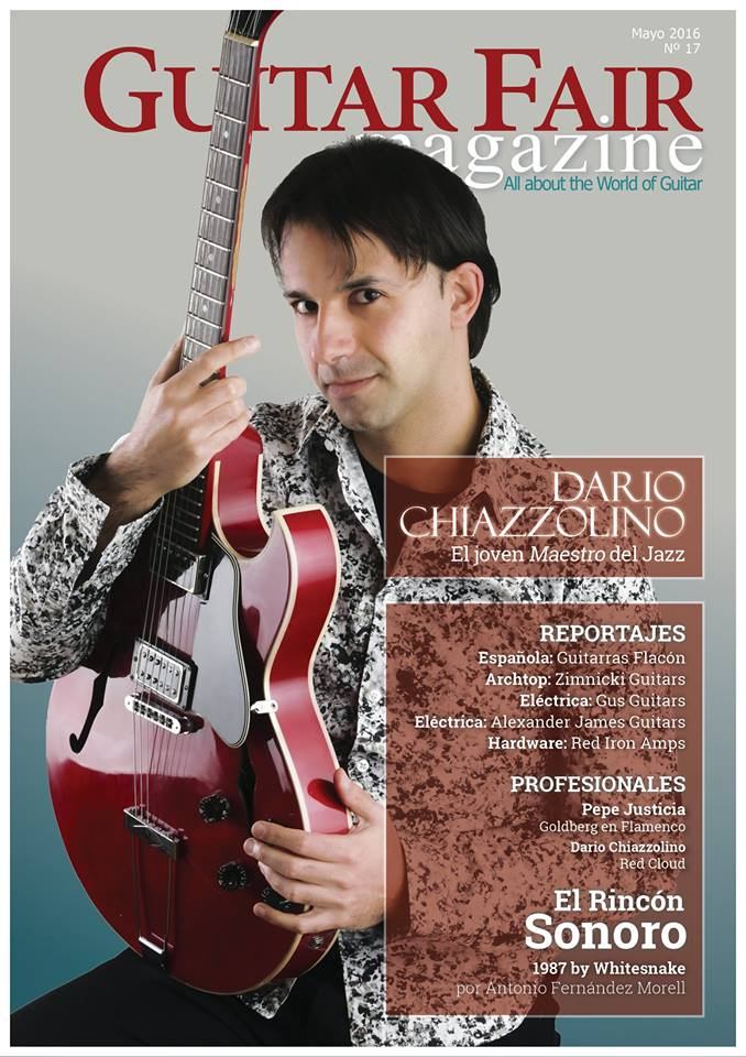Cover Guitar Fair Magazine